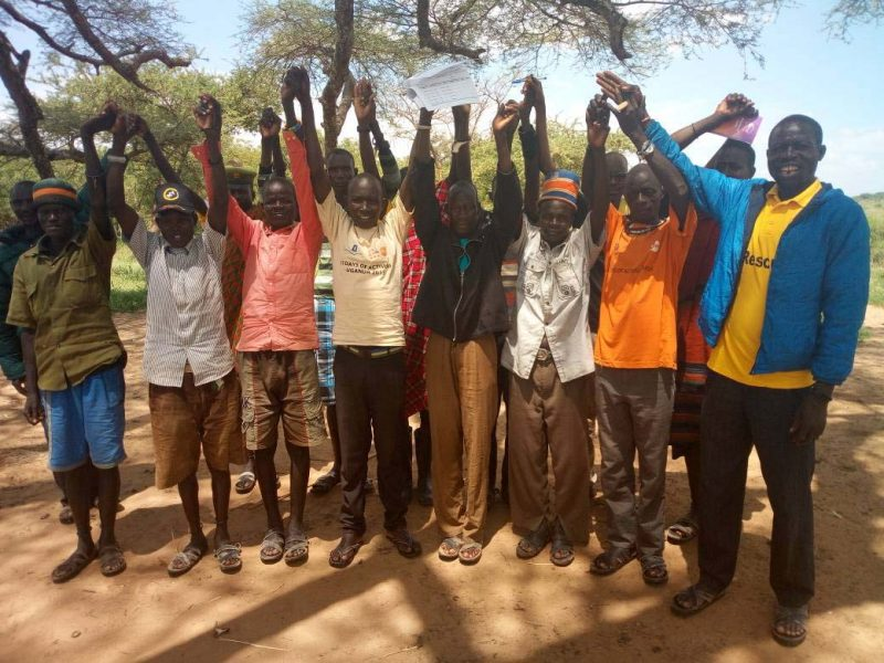 KAWUO-MALE PLADGE TO SUPPORT WOEMN EXPRIENCING VIOLENEC IN MOROTO 2017