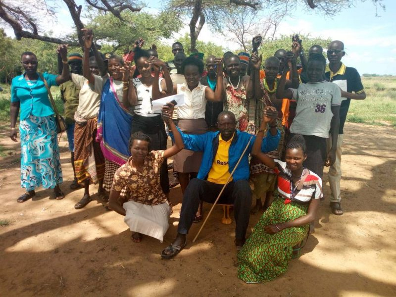 KAWUO-MALE PLADGE TO SUPPORT WOMEN EXPRIENCING VIOLENEC IN MOROTO 2017